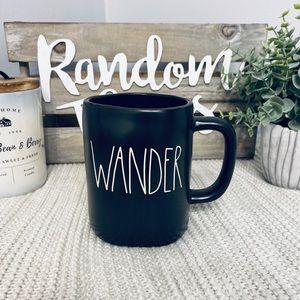 NWT Rae Dunn WANDER Mug